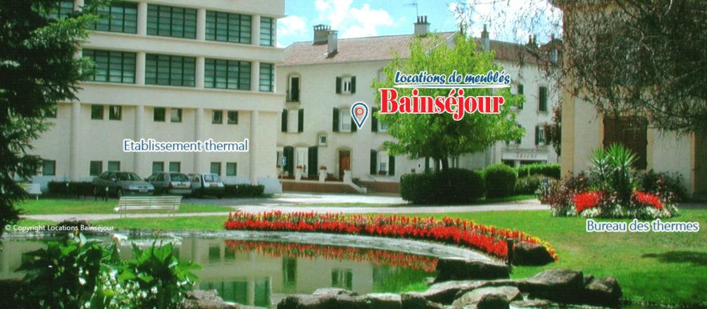 location appartement à Bains les Bains - Locations appartement résidence Bainséjour proche thermes