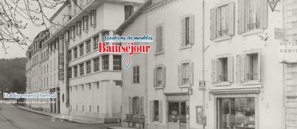 location à Bains les Bains - Locations appartement résidence Bainséjour proche thermes 1960
